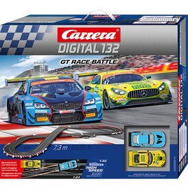 Carrera Digital 132 Rennbahn GT Race Battle Set /...
