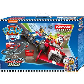 Carrera GO!!! Battery Rennbahn Paw Patrol - Ready, Race &...
