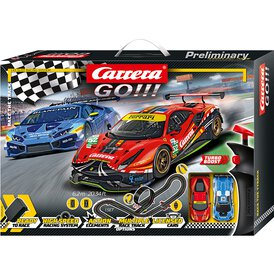 Carrera GO!!! Rennbahn Race the Track Set / Grundpackung...