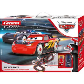 Carrera GO!!! Rennbahn Disney/Pixar Cars Rocket Racer LED...