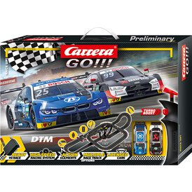 Carrera GO!!! Rennbahn DTM Race Up! Set / Grundpackung 62520