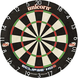 Unicorn Bristle Board Eclipse HD2 Pro TV Edition Dartscheibe