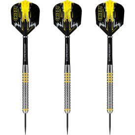 Harrows Steel Darts Dave Chisnall Chizzy 80% Tungsten...