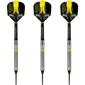 Harrows Soft Darts Dave Chisnall Chizzy 80% Tungsten...