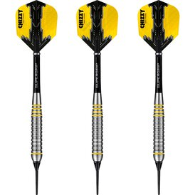 Harrows Soft Darts Dave Chisnall Chizzy Brass Tungsten...