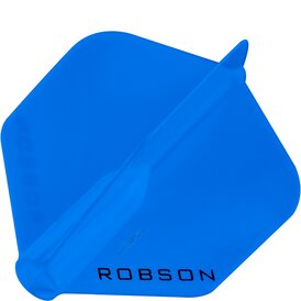 Robson Plus Dart Flight Standard Blau