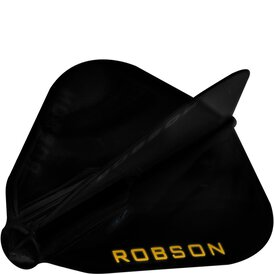 Robson Plus Dart Flight Kite Schwarz