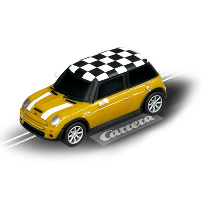 Carrera GO!!! / GO!!! Plus Mini Cooper S Mellow Yellow