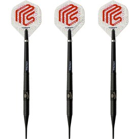 BULL´S Soft Darts Mensur Suljovic Black-Edition Soft Dart...