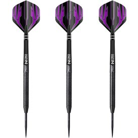 Red Dragon Steel Darts Razor Edge Black Steeltip Dart...