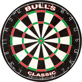 BULLS NL The Classic Dartboard Bristle Dart Board...