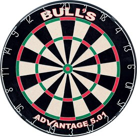 BULLS NL Advantage 501 Dartboard Bristle Dart Board...
