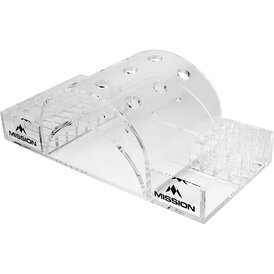 Mission Dart Station 9 Darts Full Docking Station Display...