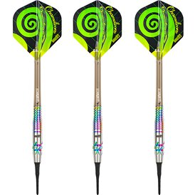 one80 Soft Darts Chameleon Sunny VHD Softtip Dart...