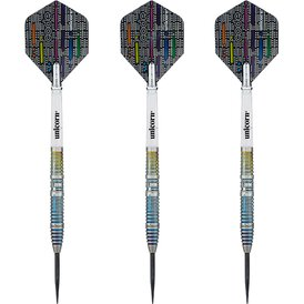 Unicorn Steel Darts Code Jeffrey de Zwaan 90% Tungsten...