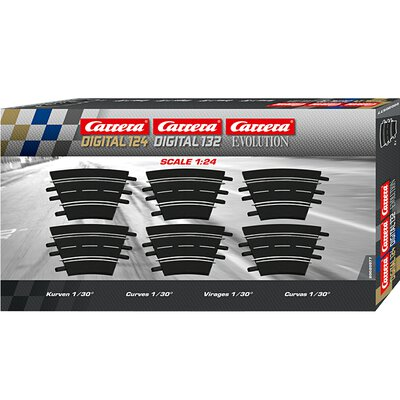 Carrera Evolution Digital 124 Digital 132 Kurve 1/30 Grad