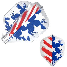 8 Flight Target Dart USA Flagge USA Flag Design 2020 Nr.6