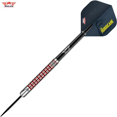 BULLS NL Steel Darts Kim Huybrechts 90% PCT The Hurricane Steeltip Darts Steeldart