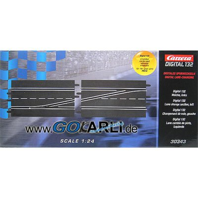 Carrera Digital 124 / 132 Weiche links 30343