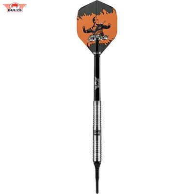 BULLS Soft Darts Dirk van Duijvenbode The Titan 90% Tungsten Softtip Darts Softdart 18 g
