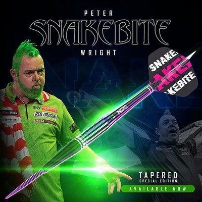 Red Dragon Steel Darts Peter Wright World Champion Tapered SE Weltmeister 2020 Steeltip Dart Steeldart