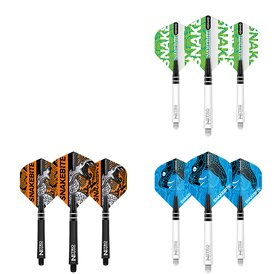Red Dragon Player Peter Wright Shaft- Flights Coiled...