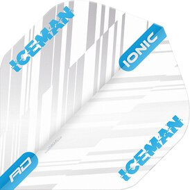 Red Dragon Player Gerwyn Price Iceman Ionic Dart Flights...