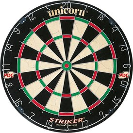 Unicorn Bristle Board Striker Dartboard Dartscheibe...