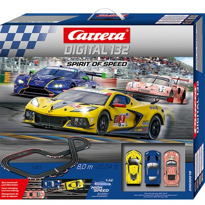 Carrera Digital 132 Rennbahn Autorennbahn Spirit of Speed Set / Grundpackung 30016