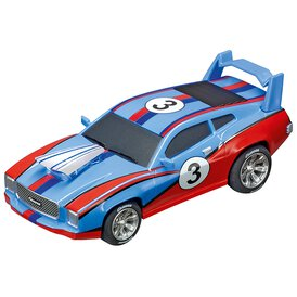 Carrera GO!!! / GO!!! Plus Muscle Car Blau 64141