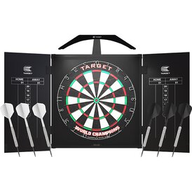 Target ARC Cabinet Set mit ARC Light Dartboard LED...