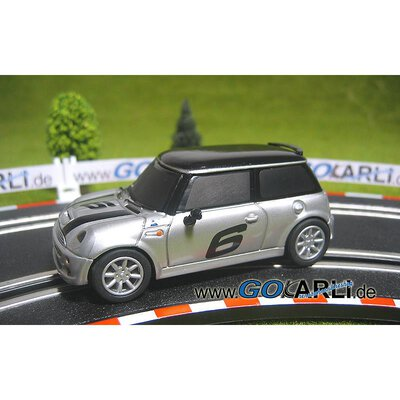 Carrera GO!!! / GO!!! Plus Mini Cooper S silber