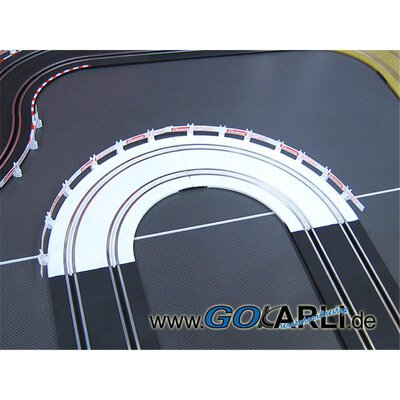 Carrera GO!!! / GO!!! Plus / Digital 143 Kurve 1 / 90° Eiskurve 61644