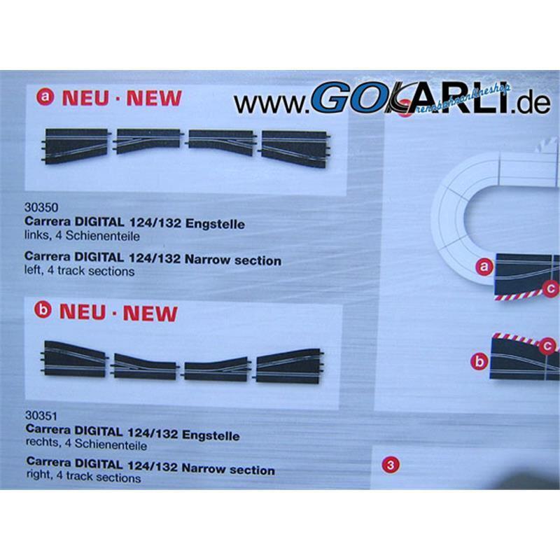 Neu//Ovp CARRERA 30351 DIGITAL 132 Engstelle rechts