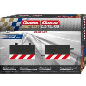 Carrera Digital 124 / 132 Randstreifen Anschlussstück 30358