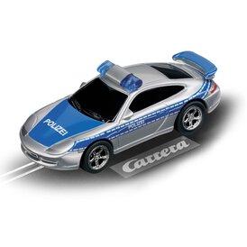 Carrera GO!!! / GO!!! Plus Porsche GT3 silber / blau