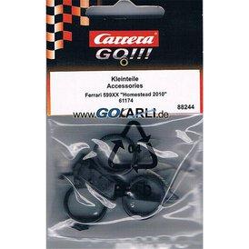 Carrera GO!!! / Digital 143 Ersatzteilset Ferrari 599XX...