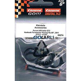 Carrera GO!!! / Digital 143 Ersatzteilset Ferrari 458...