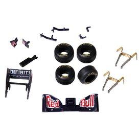 Carrera GO!!! / Digital 143 Ersatzteilset F1 Red Bull RB7...