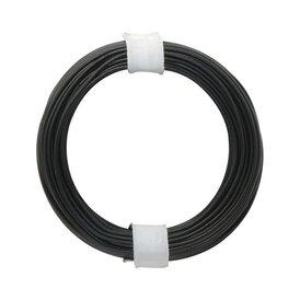 Kupferschalt Litze schwarz 0,14 mm 10m Ring