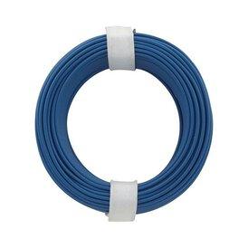 Kupferschalt Litze blau 0,14 mm 10m Ring