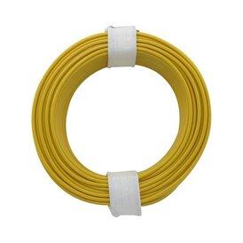 Kupferschalt Litze gelb 0,14 mm 10m Ring