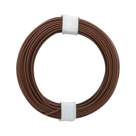 Kupferschalt Litze braun 0,14 mm 10m Ring
