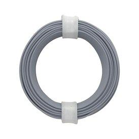 Kupferschalt Litze grau 0,14 mm 10m Ring