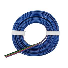 Vierlingslitze Kabel Anschlusskabel 0,25 mm RGB LED...