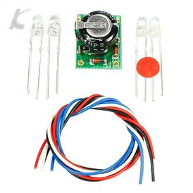 Slotcarlicht Slotlight 3 LED 3 mm warmweiss Bausatz...