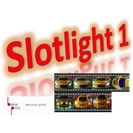 Slotcarlicht Slotlight 1 Premium Set 2 x  LED 3 mm gelb 2...
