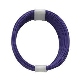 Kupferschalt Litze violett - extra duenn 0,04 mm 10m Ring