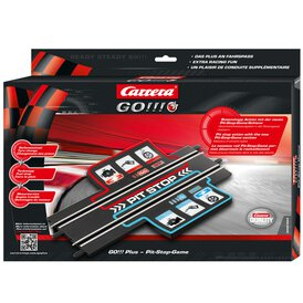Carrera GO!!!+ Plus Pitstop Game Schiene 61664