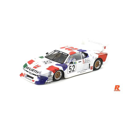 Scaleauto BMW M1 Gr.5 Nr.52 Le Mans 1981 R-Chassis